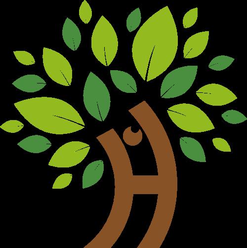 字母h树变形