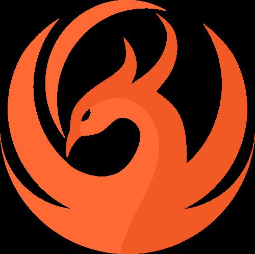 凤凰鸟翅膀动物图形