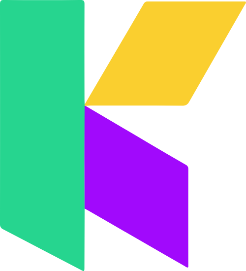 K字母几何图形