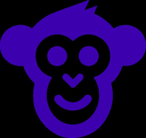 猴子可爱卡通造型