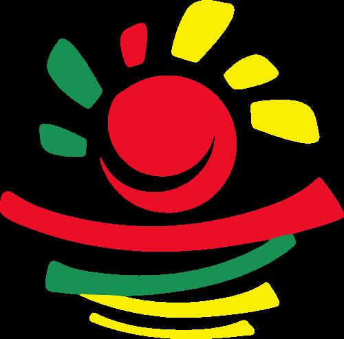 幼儿园画画太阳矢量logo