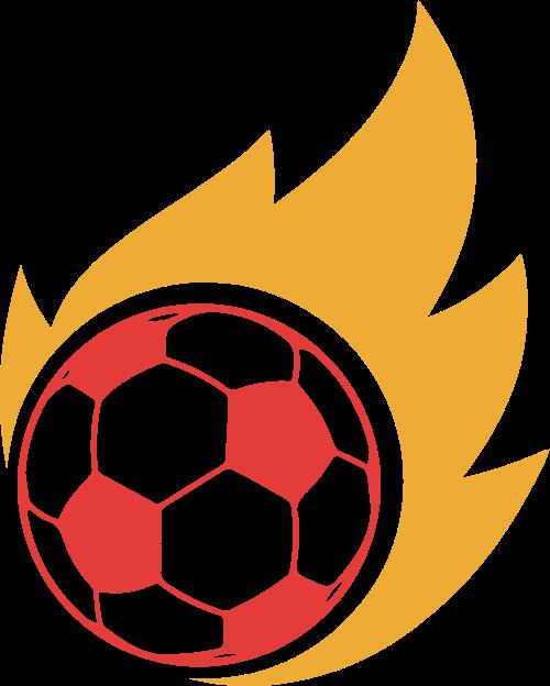 足球火热赛事体育世界杯矢量logo