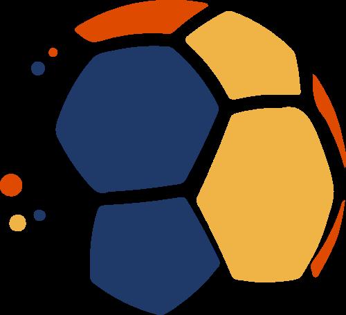 足球体育竞技矢量logo