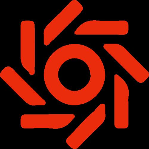太阳科技感矢量logo