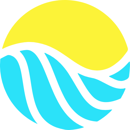 太阳阳光农场矢量logo