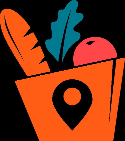 水果蔬菜矢量logo