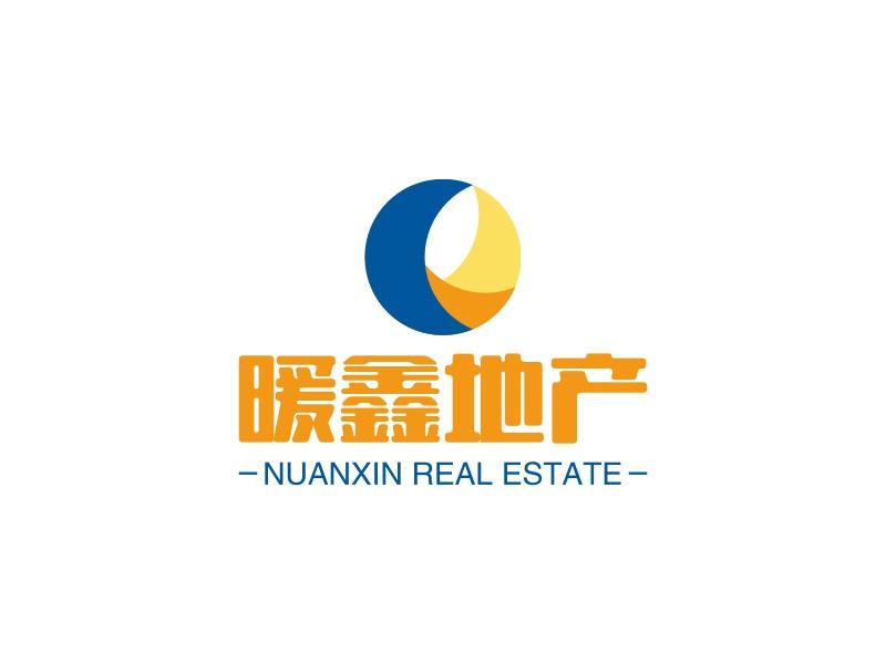 暖鑫地产logo设计