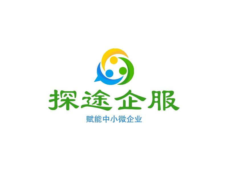 探途企服logo设计