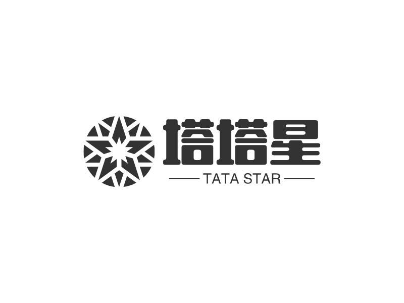 塔塔星logo设计