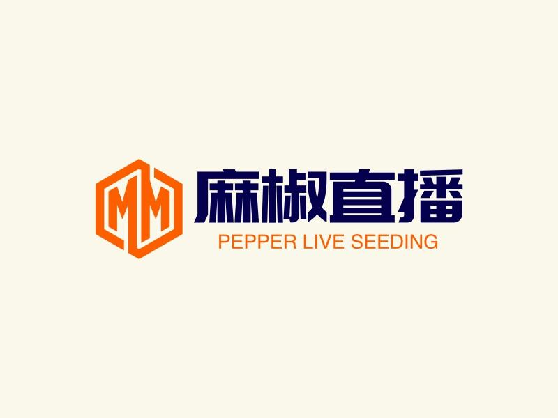 麻椒直播logo设计