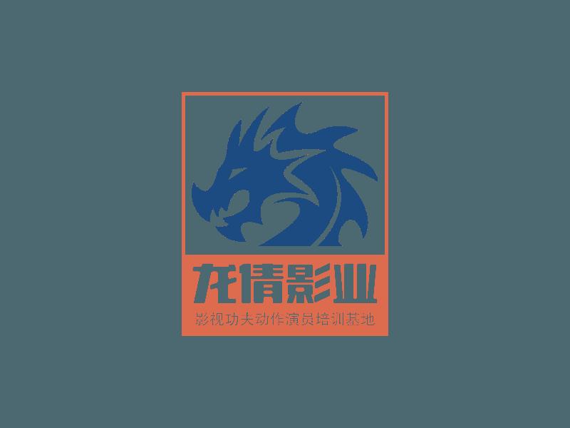 龙倩影业logo设计