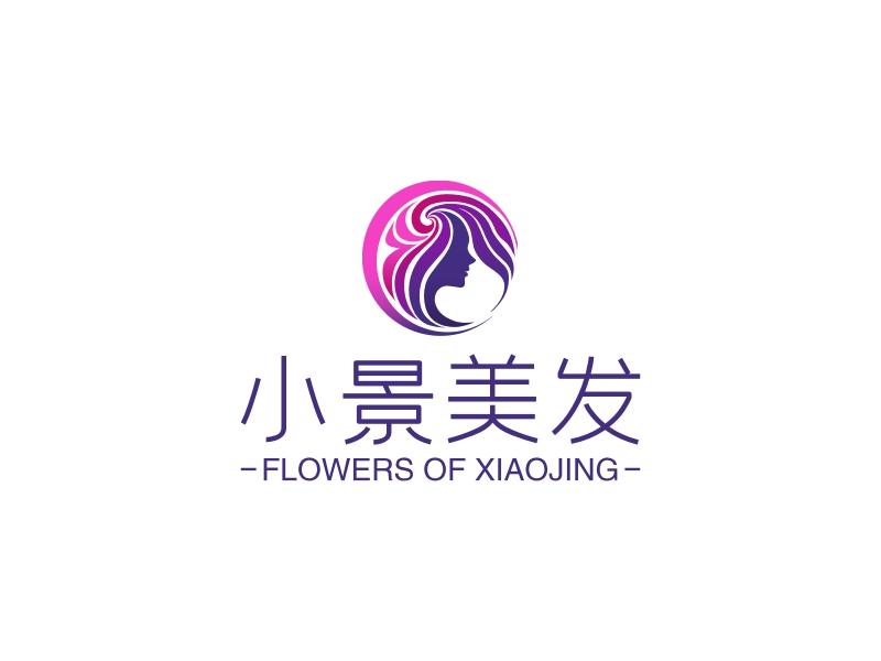 小景美发logo设计