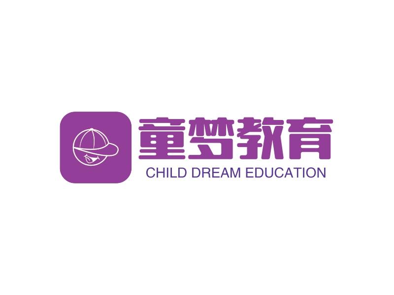 童梦教育LOGO设计