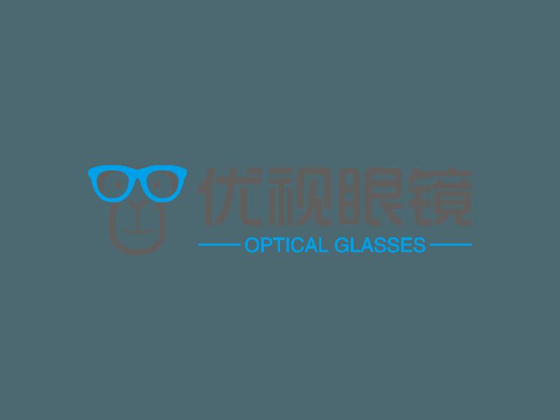 优视眼镜logo设计