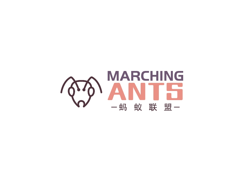MARCHING ANTSlogo设计
