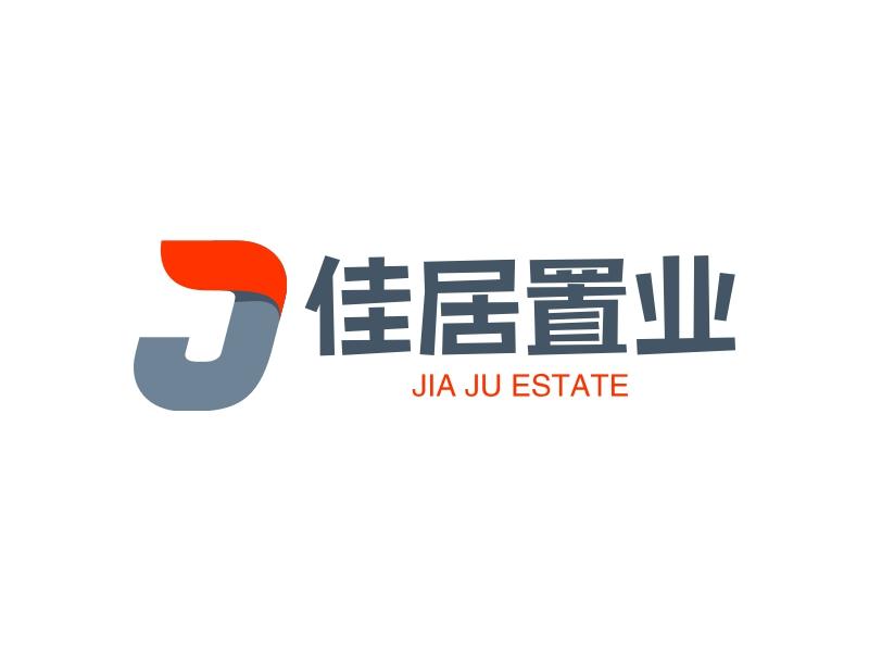 佳居置业logo设计