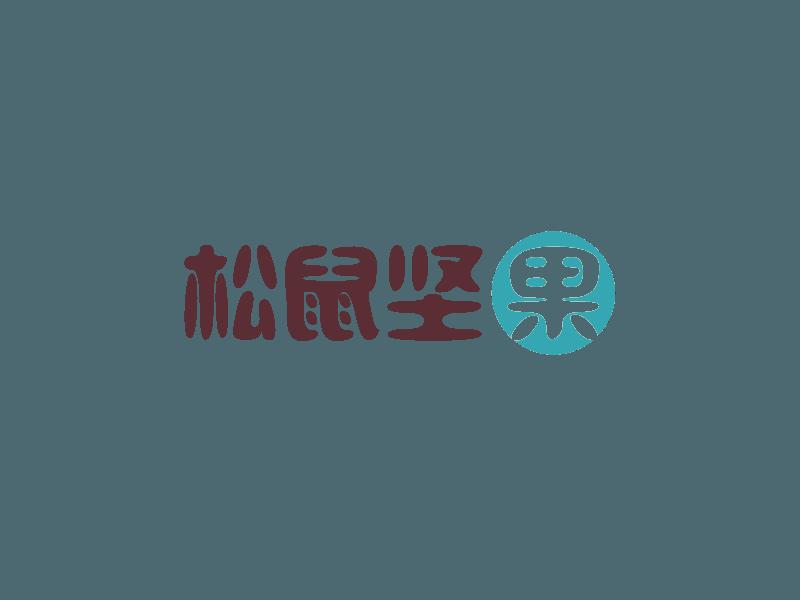 松鼠坚果logo设计