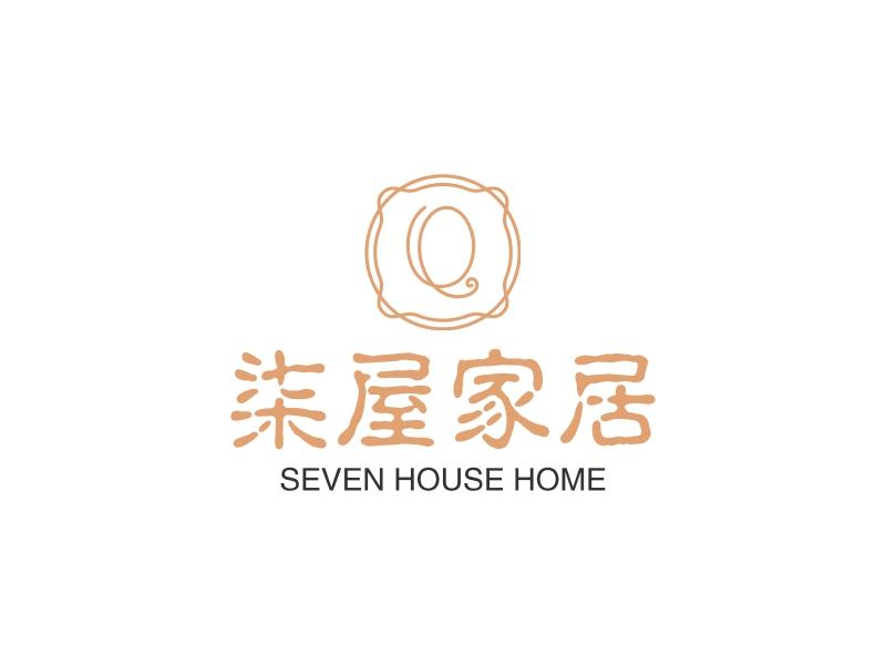 柒屋家居logo设计