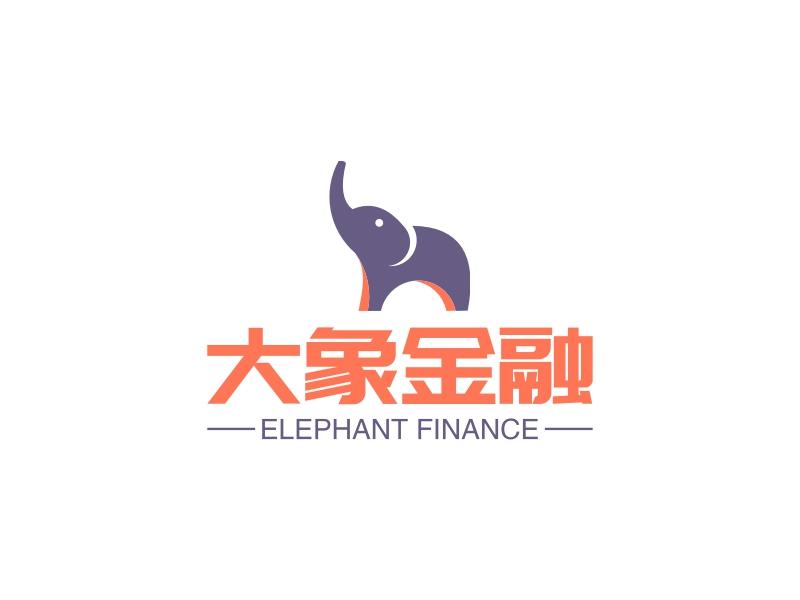 大象金融LOGO设计