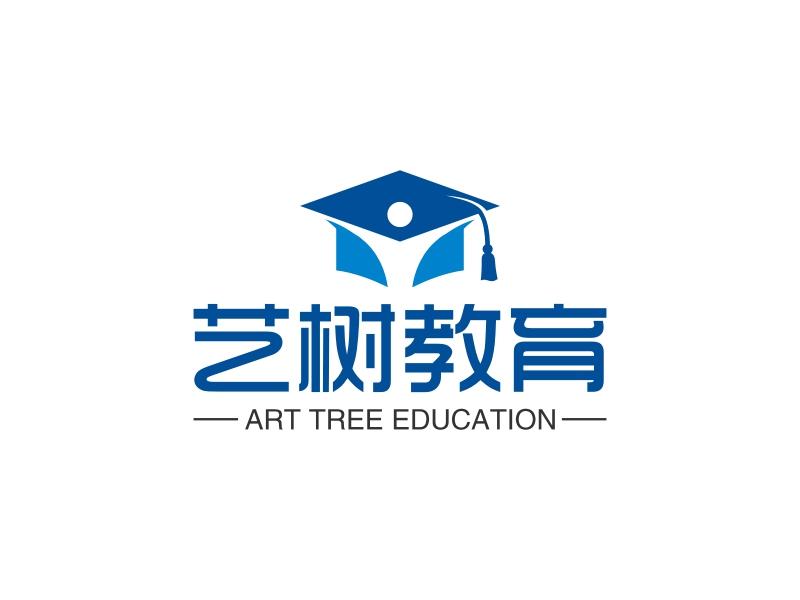 艺树教育LOGO设计