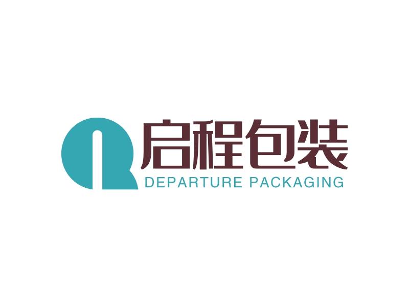 启程包装logo设计