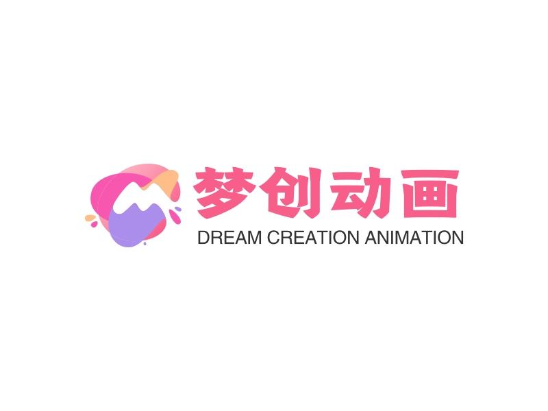 梦创动画LOGO设计