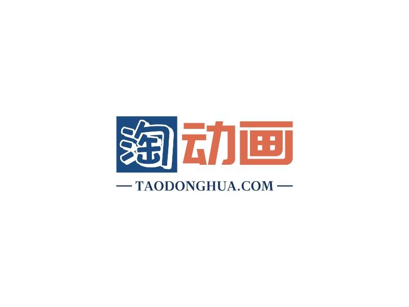 淘动画logo设计