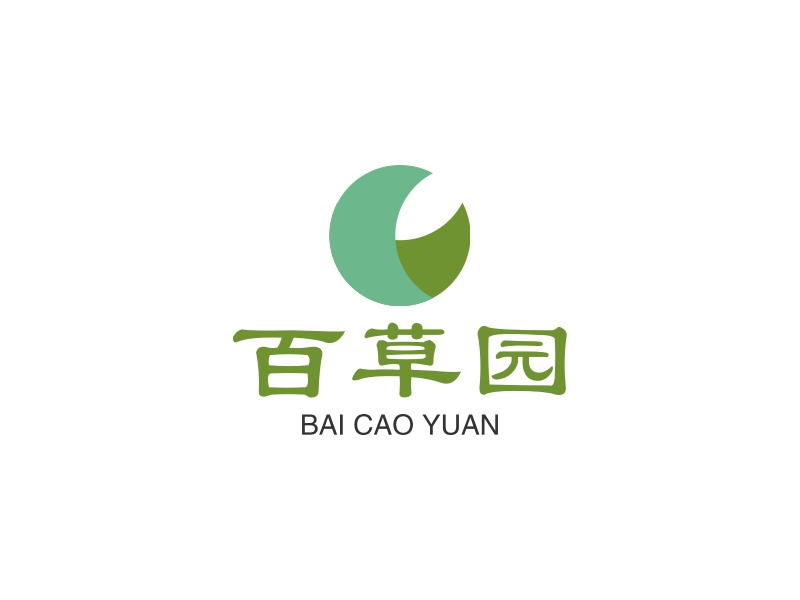 百草园logo设计