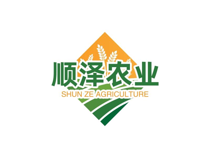 顺泽农业LOGO设计