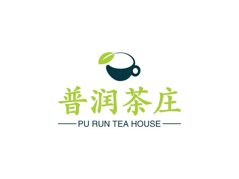 普润茶庄LOGO设计