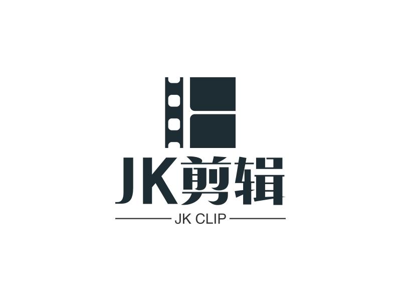 JK剪辑logo设计