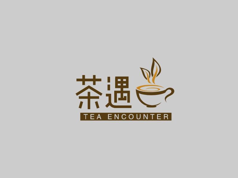 茶遇LOGO设计