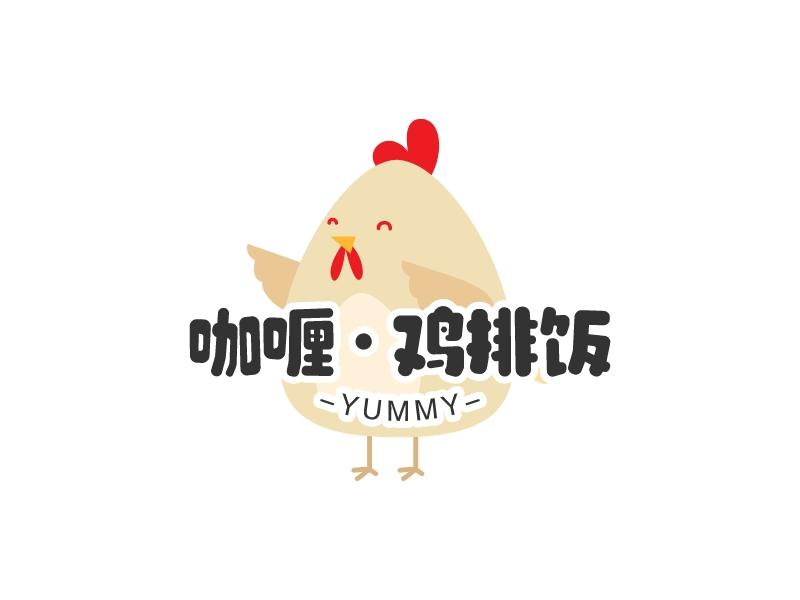 咖喱·鸡排饭LOGO设计