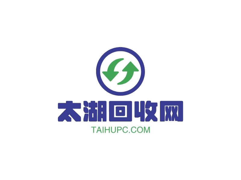 太湖回收网LOGO设计